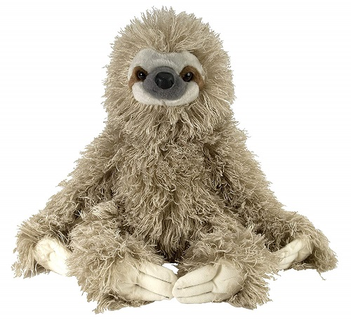 Wild Republic Cuddlekin Three Toed Sloth