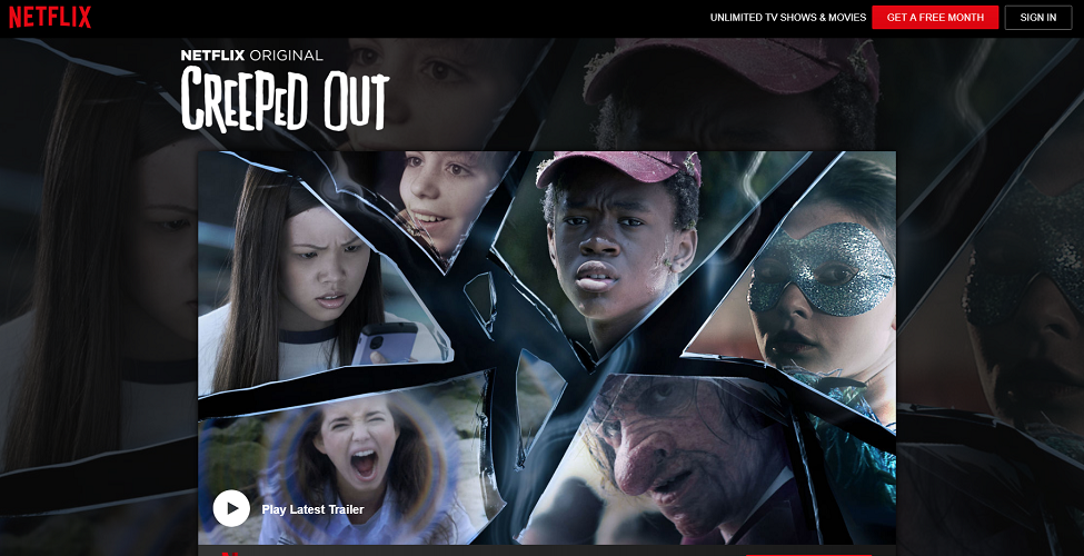 Netflix - Creeped Out