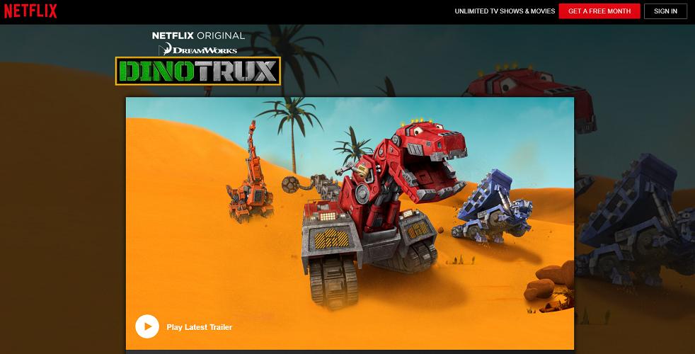 Netflix - Dinotrux