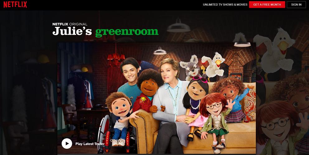 Netflix - Julie's greenroom