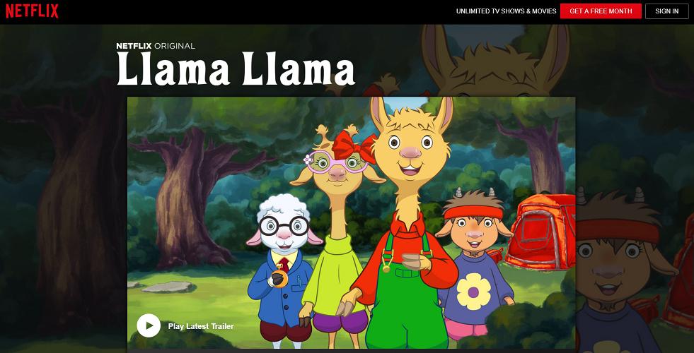 Netflix - Llama Llama