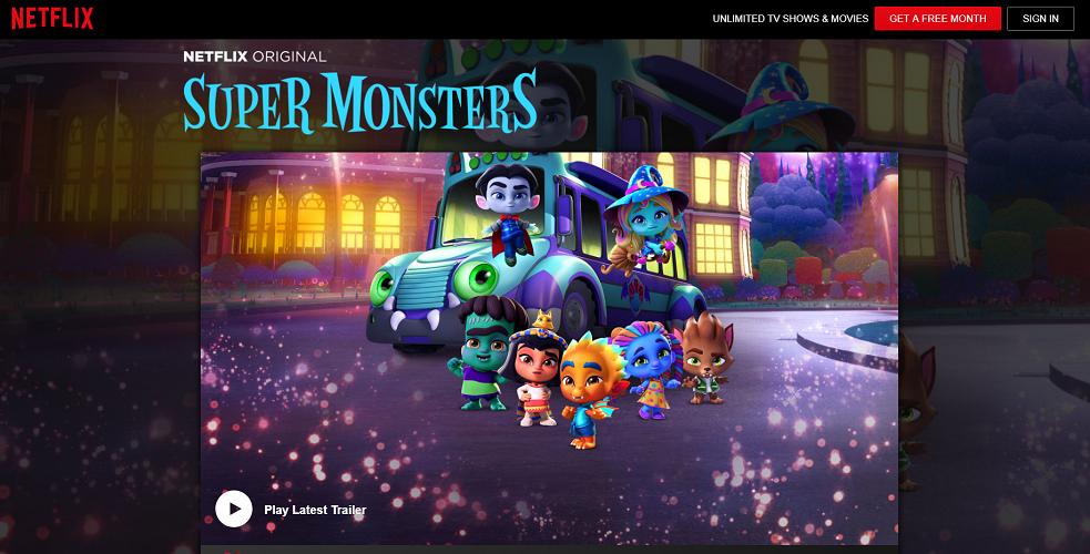 Netflix - Super Monsters