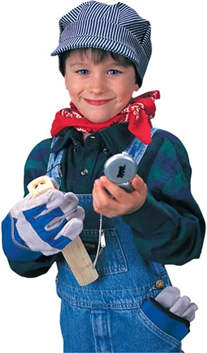 Kids Train Engineer Costume Set