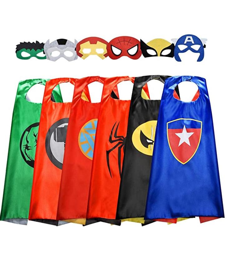 Superhero capes Boy Costumes
