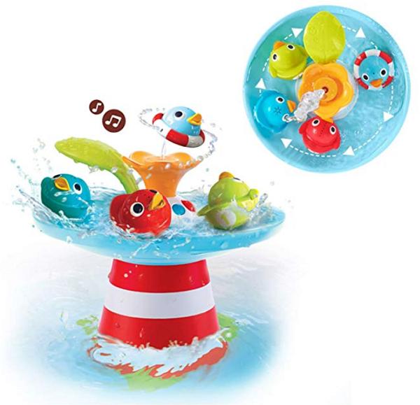 Yookidoo Bath Toy - Musical Duck Race