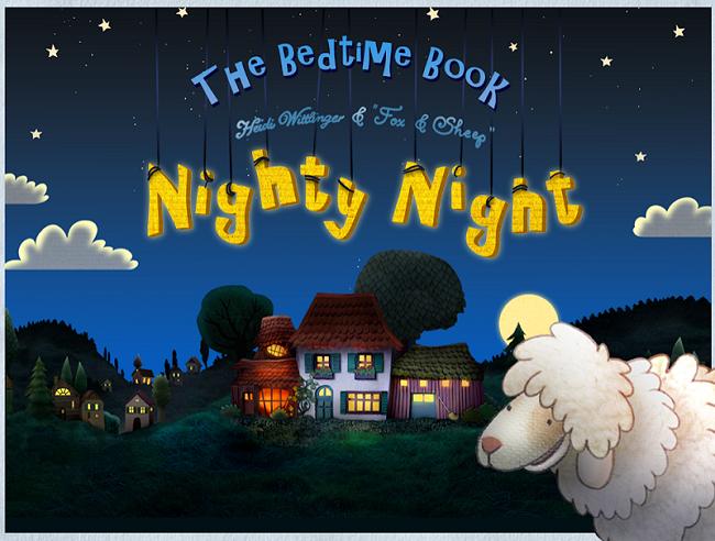 Nighty Night Bedtime Story App