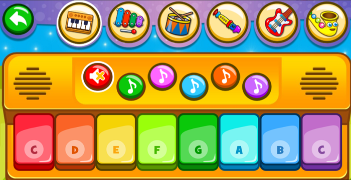 Piano Kids - Music and Songs app