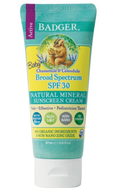 Badger Baby Sunscreen