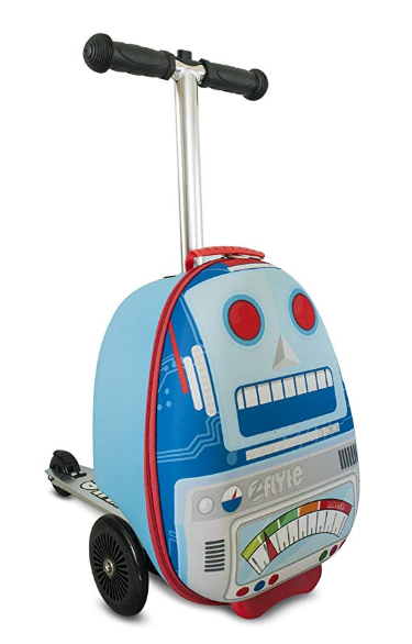 Zinc Flyte Scooter Luggage robot