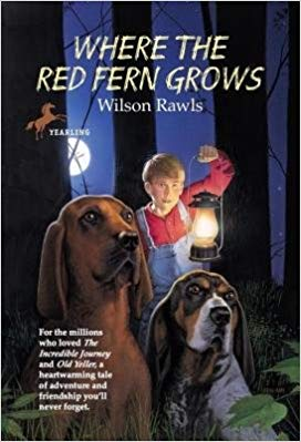 Middle School Books Where the Red Ferns Grows