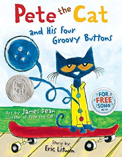 Preschooler books Pete the Cat