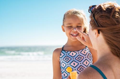 kids babies sunscreen