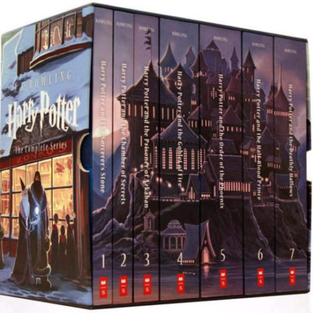 harry potter complete series books