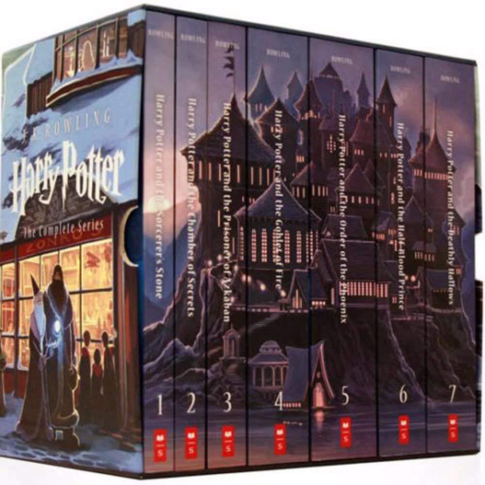 High School Books Harry Potter series