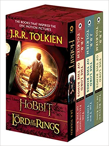 the hobbit and lord of the rings books