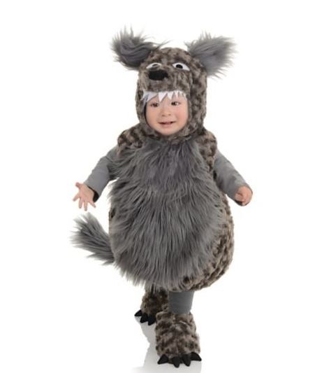 Toddler Costumes Wolf