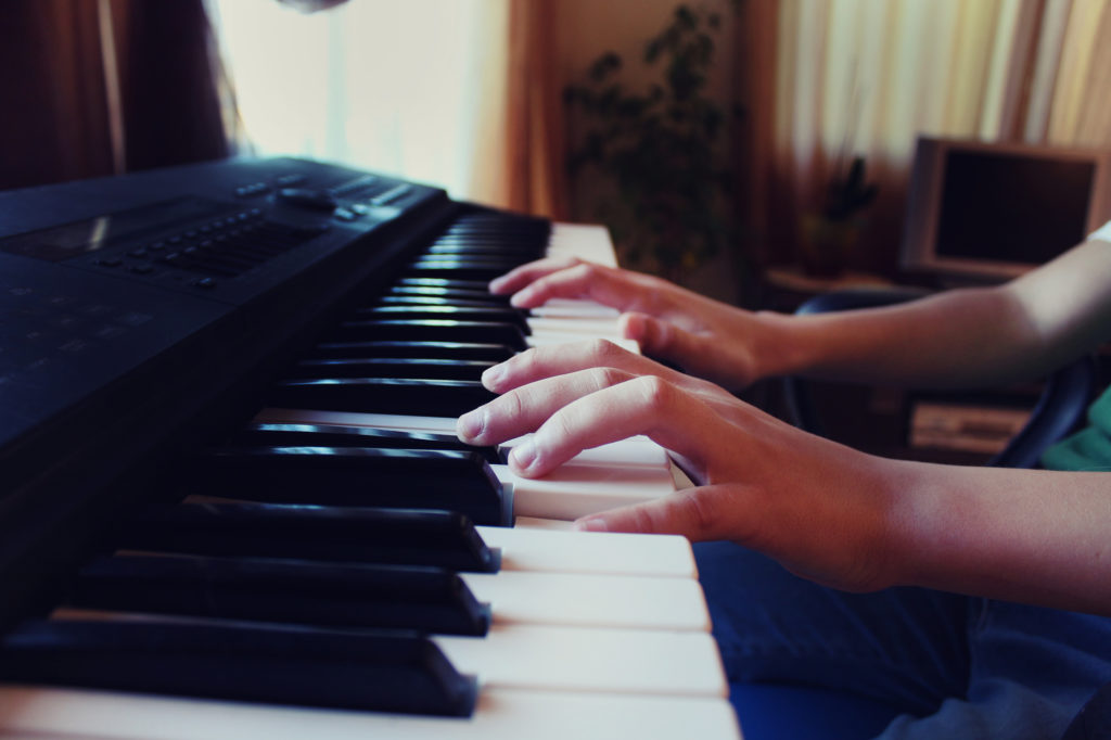 kids electric keyboard piano