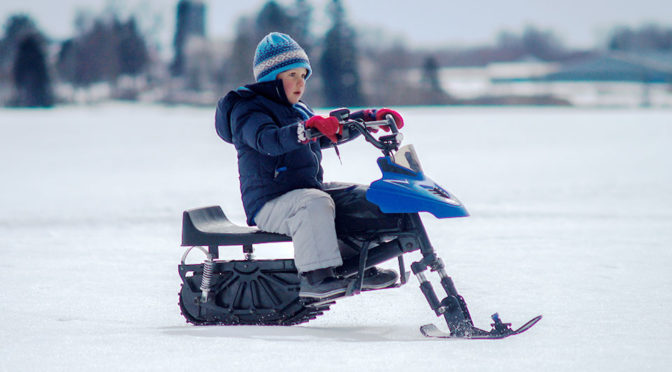 NASEKA Electric Snowmobile for Kids Featured image 1