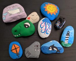Painted Rocks by Leppicu