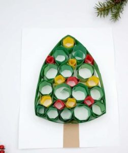 Quilling Christmas Tree Paper Quilling for Kids PIN