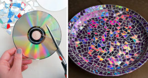 cd diy old compact disc crafts fb