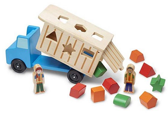 2 year old boys gifts shape sorting truck