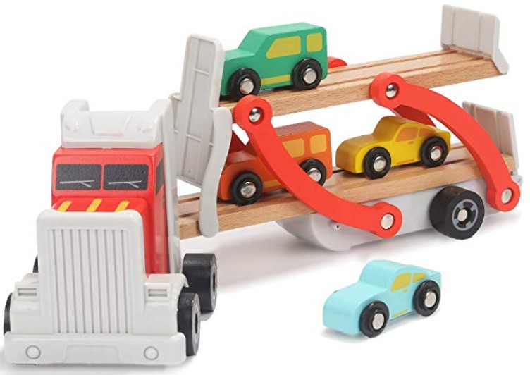 2 year old boys gifts wooden car toys