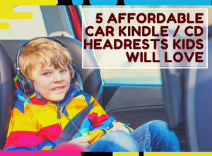 car kindle cd headrest