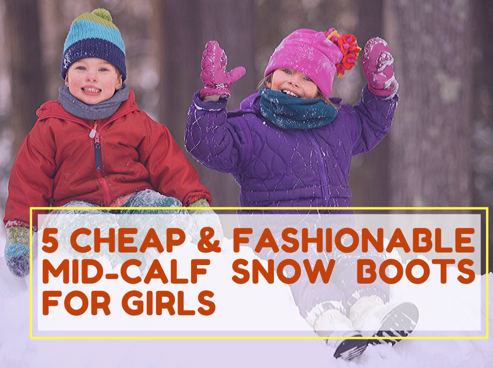 cheap fashionable snow boots 1