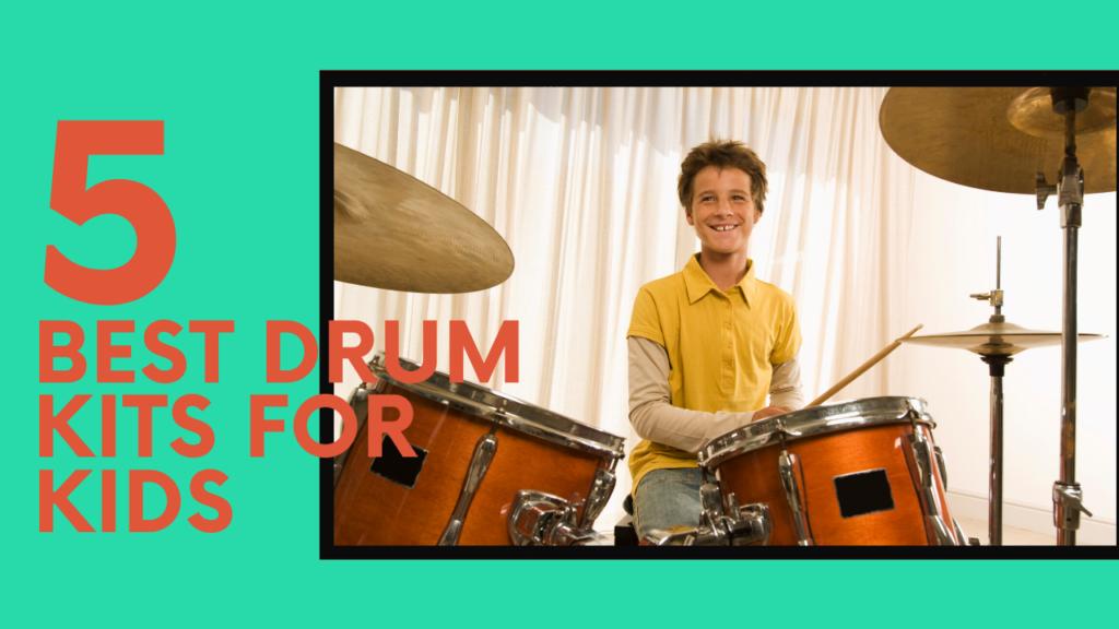 drum kits kids picture