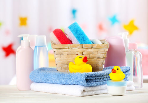 bath products for babies