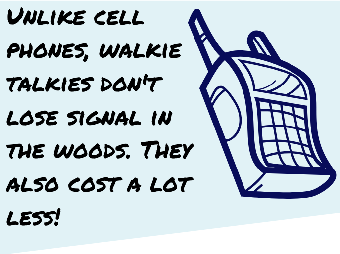 walkie talkies fact