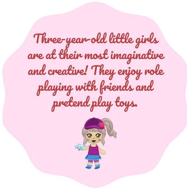 3-year-old GIRLS fact