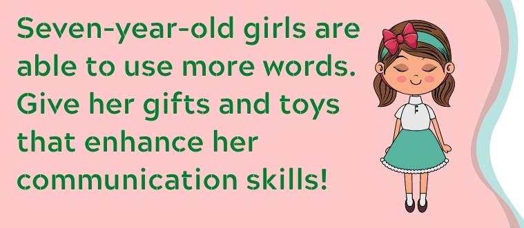 7 year old GIRLS fact
