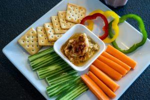 hummus veggies