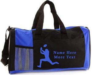 16 yr old boy gifts custom sports bag
