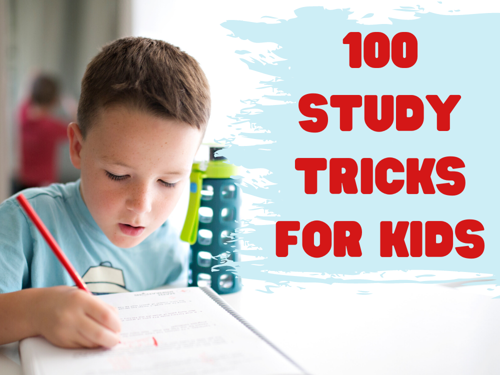 BKS_100 Study Tricks for Kids_featured