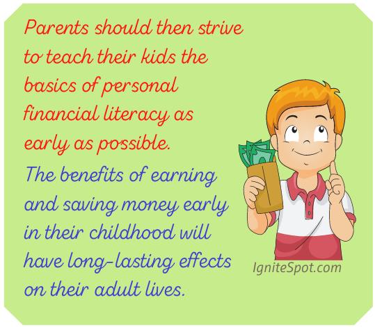Creative Ways Save and Earn fact