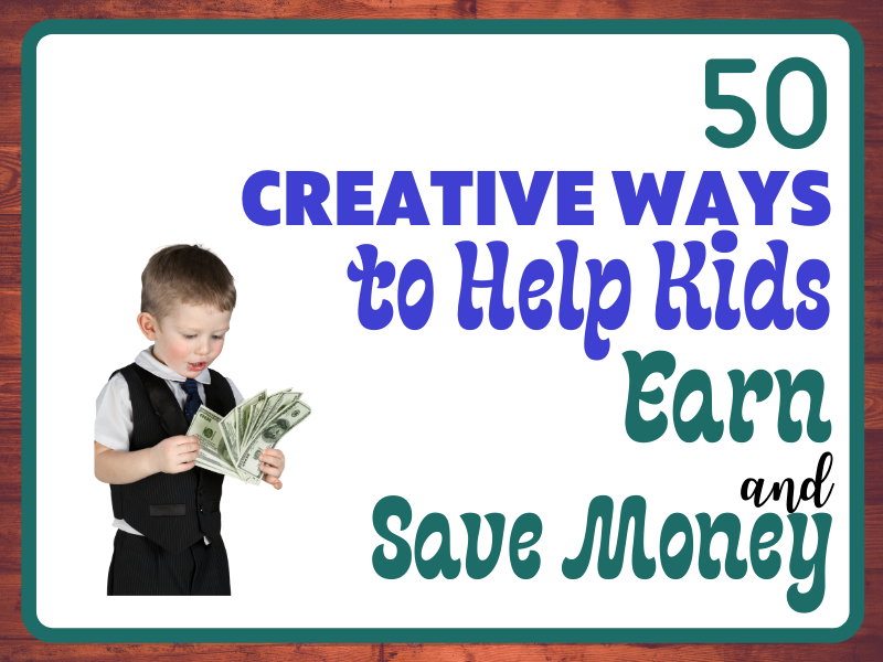 Creative Ways Save and Earn featured