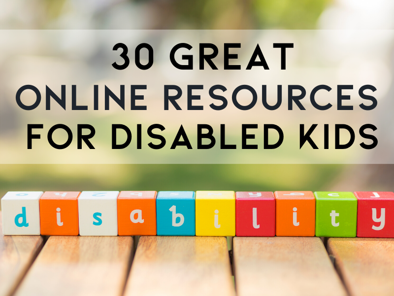 Disabled Kids Resources featured