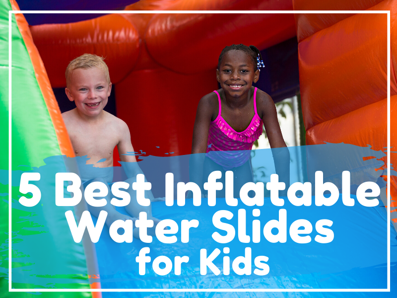 Inflatable Water Slide featured