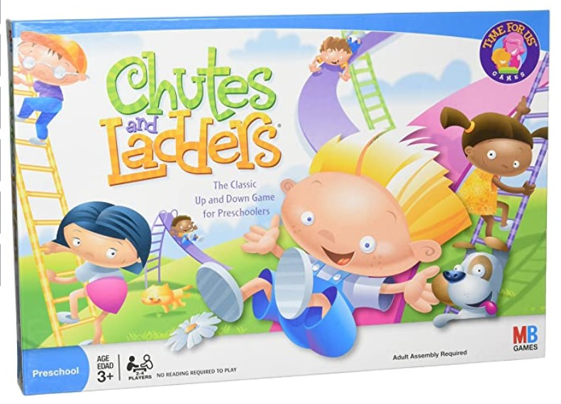 Learning Board Game Chutes and Ladders