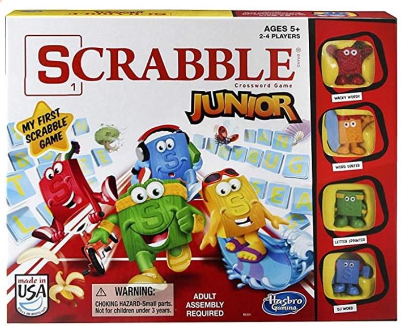 Learning Board Game Scrabble Jr