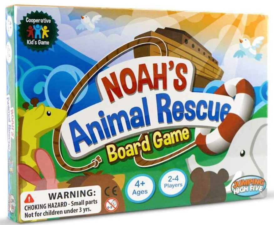 Learning Board Game Animal Rescue