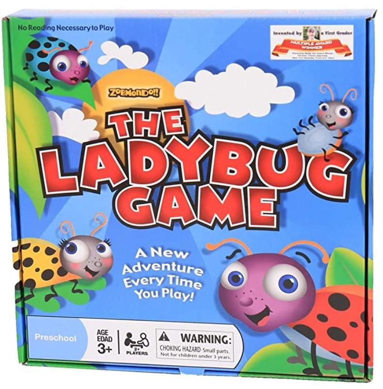 Learning Board Game Ladybug Game