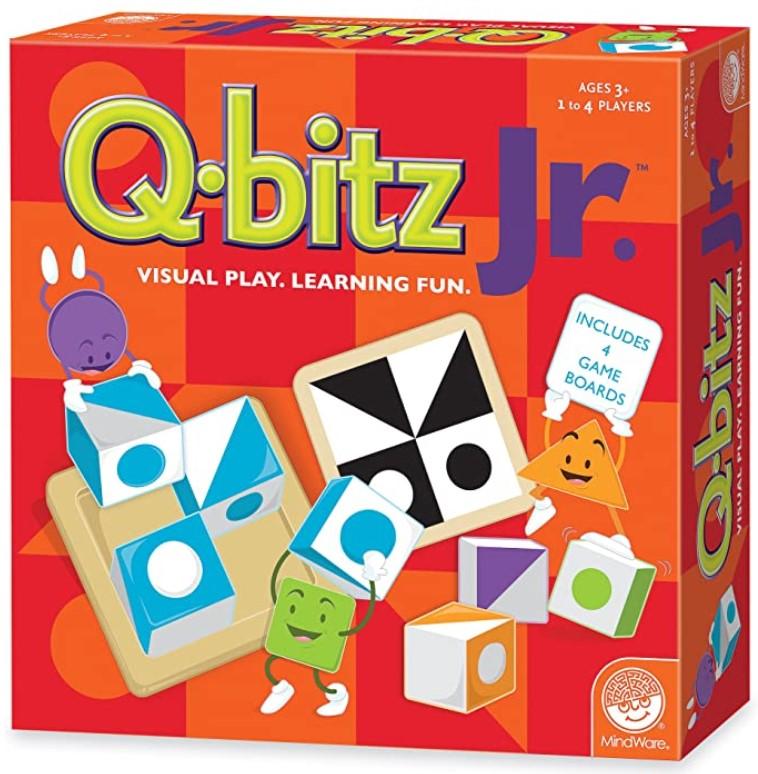 Learning Board Game Q-bitz Jr