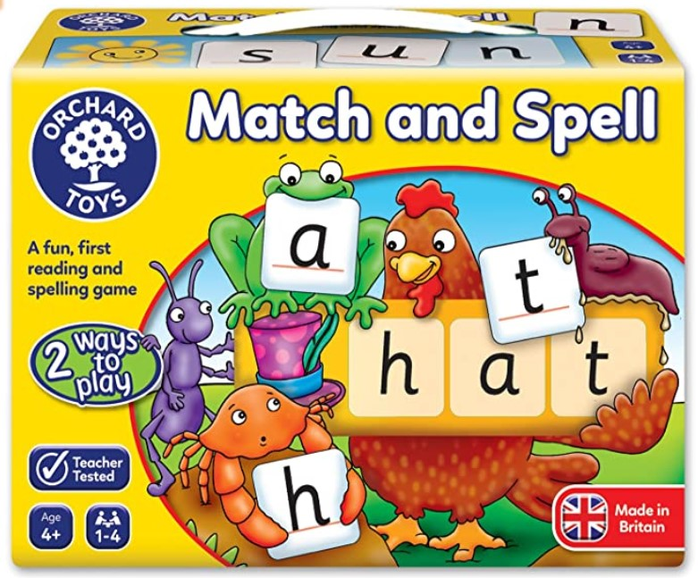 Learning Board Game Match and Spell