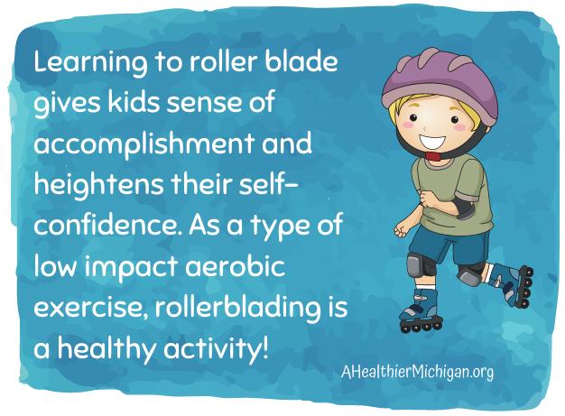 Rollerblades Inline Skates fact