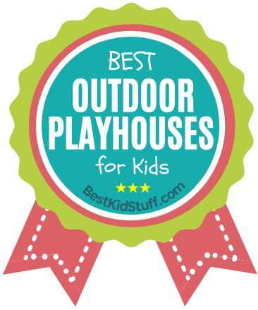 BKS_Badge_Outdoor Playhouses for Kids