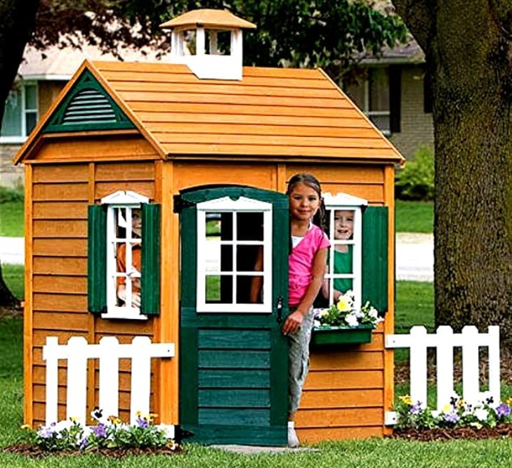 Outdoor Playhouse 3